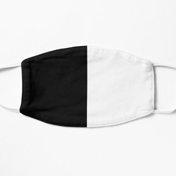 Black and White Flat Mask