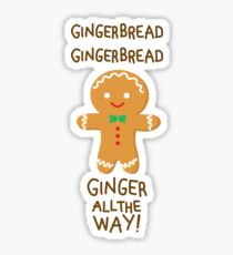 Gingerbread Sticker