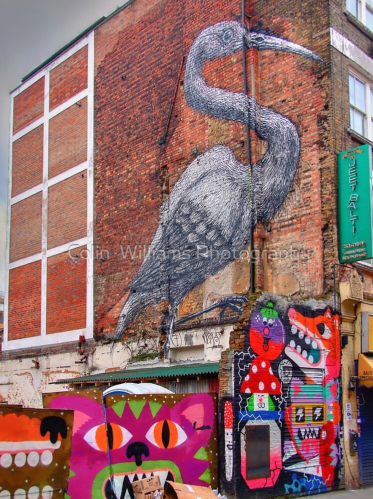 Urban Art - Brick Lane - HDR by Colin  Williams Photography