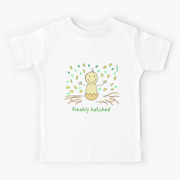 Freshly hatched baby Kids T-Shirt