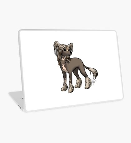 Chinese Crested Laptop Skin