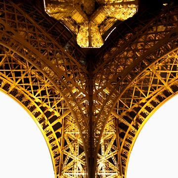 TD 'One Legged Eiffel' Clothing & Stickers by TJDavey
