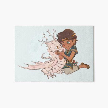 Baby prince Khalid Art Board Print
