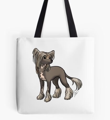 Chinese Crested Tote Bag