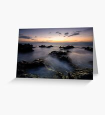 Blue and Gold, Maui Greeting Card