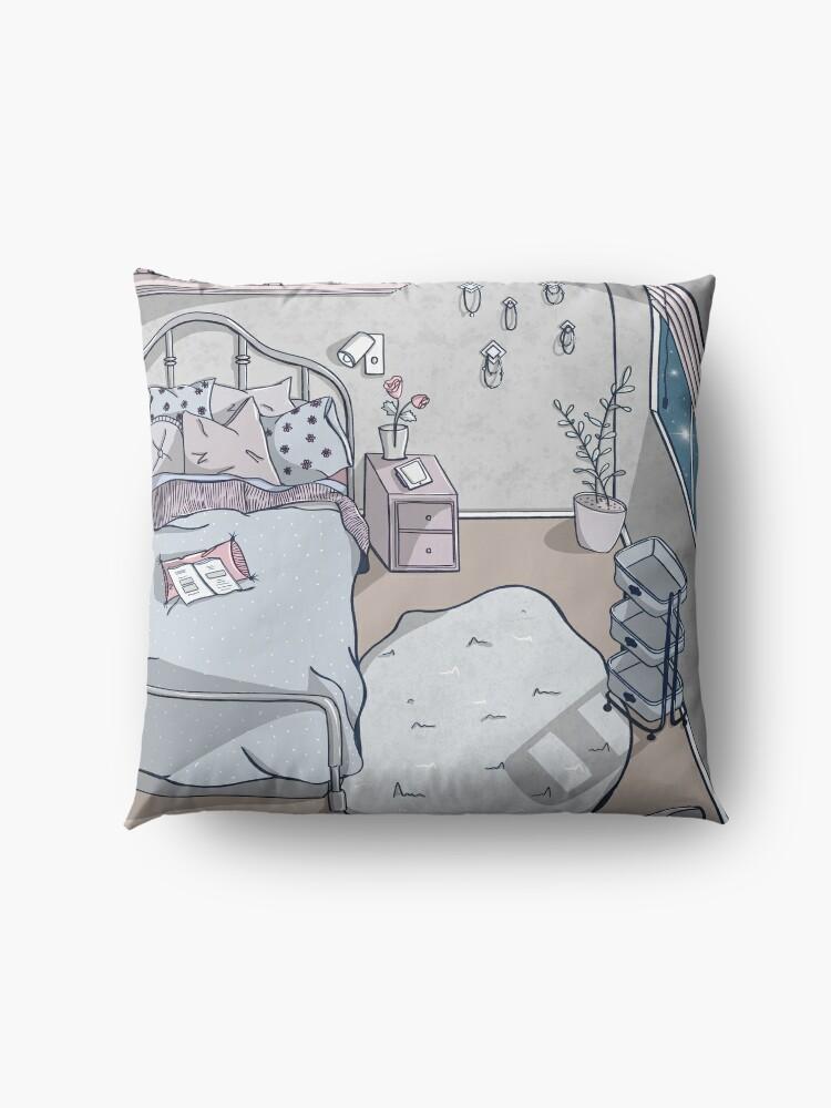 Alternate view of Dusk Floor Pillow