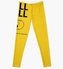 Kill Bill Minimalist Design Leggings
