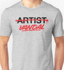 Vandal Not Artist (v2) T-Shirt