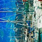 Harbor of Seward Alaska Abstract Impressionism by pjwuebker
