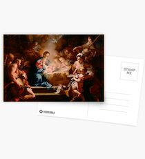 The Adoration of the Shepherds, 1720 Postcards