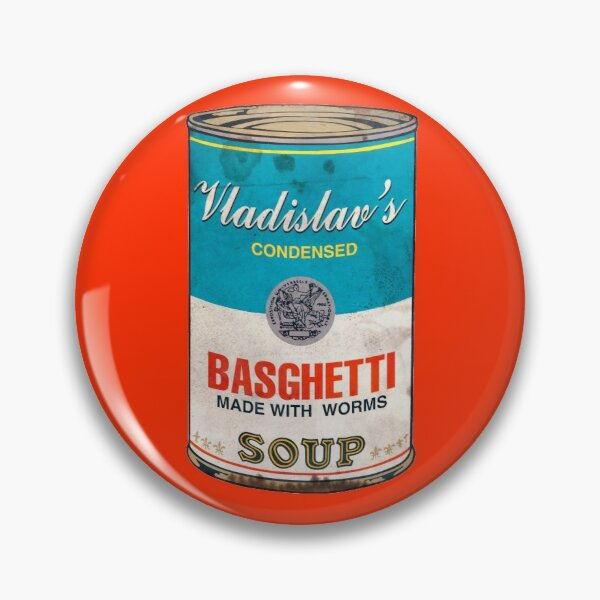 Vladislav's Basghetti, What We Do in the Shadows Pin