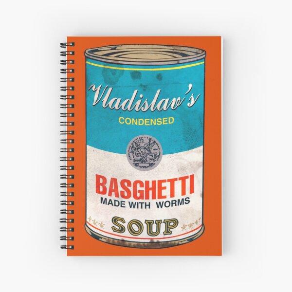 Vladislav's Basghetti, What We Do in the Shadows Spiral Notebook
