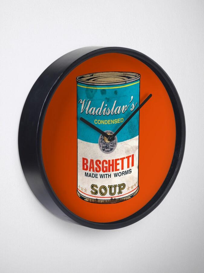 Alternate view of Vladislav's Basghetti, What We Do in the Shadows Clock