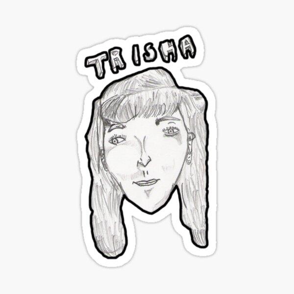 Trisha Mini Head - Trisha Sticker