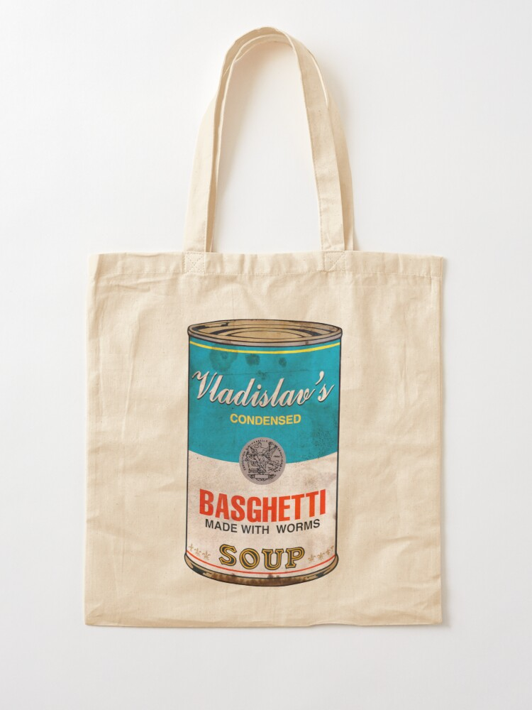 Alternate view of Vladislav's Basghetti, What We Do in the Shadows Tote Bag