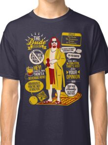 The Dude Quotes Classic T-Shirt