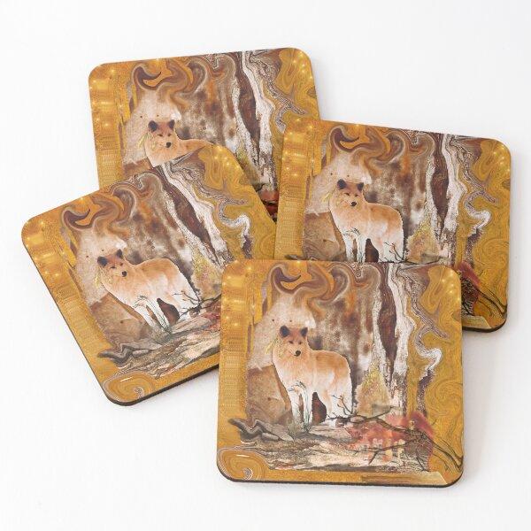 Wolf Coasters (Set of 4)