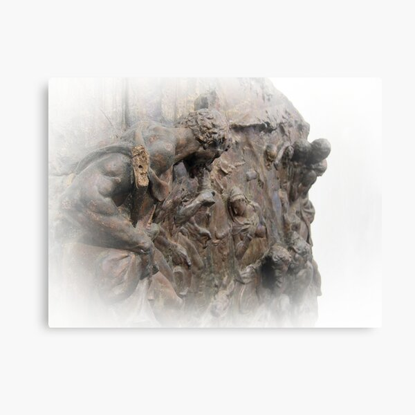 Bronze carvings, Museo Bandini, Fiesole, Italy Canvas Print