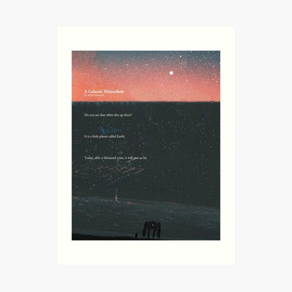 A Galactic Melancholy I Art Print