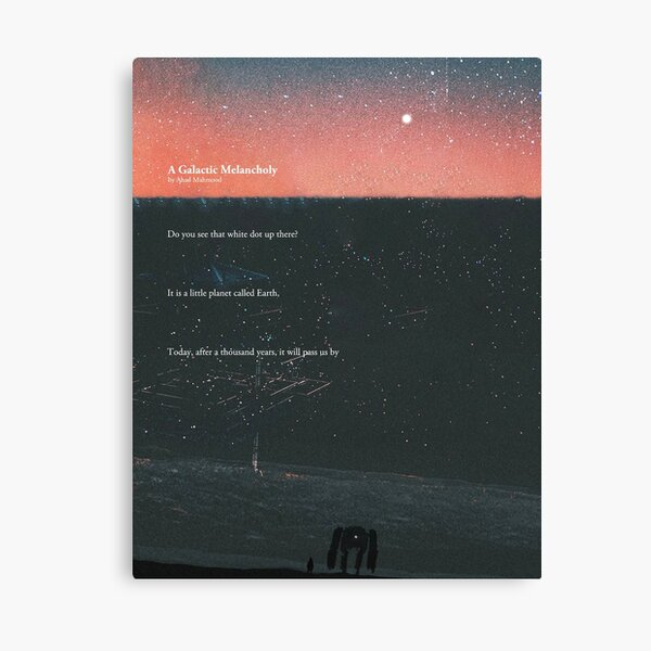 A Galactic Melancholy I Canvas Print