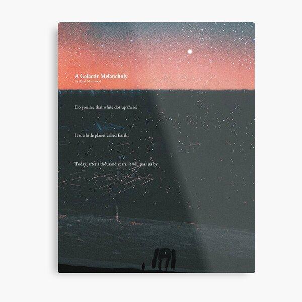 A Galactic Melancholy I Metal Print