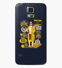 The Dude Quotes Case/Skin for Samsung Galaxy