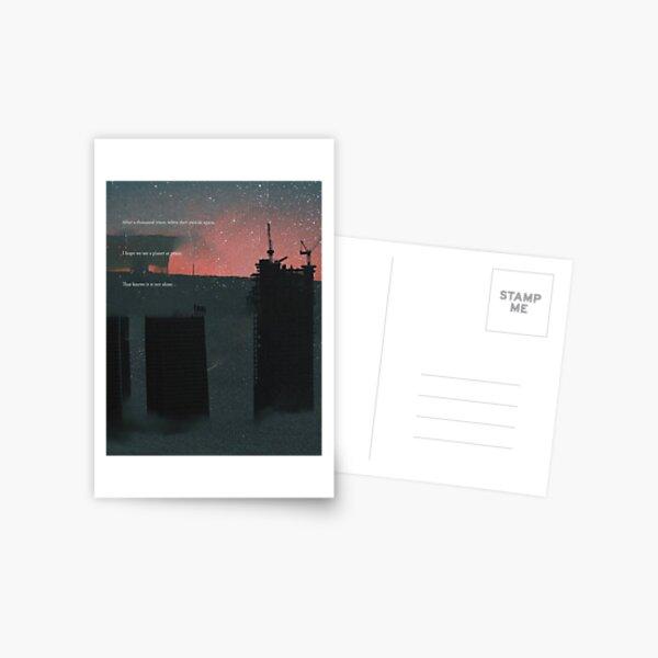 A Galactic Melancholy IV Postcard
