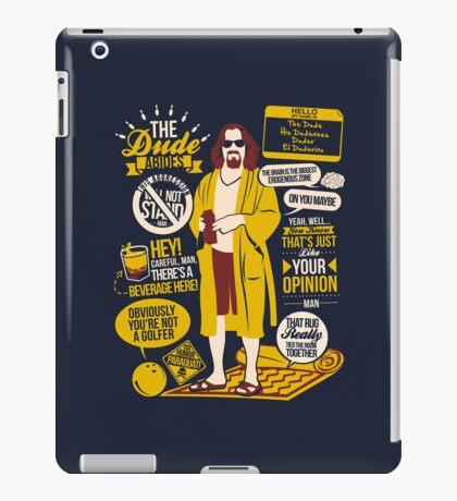The Dude Quotes iPad Case/Skin