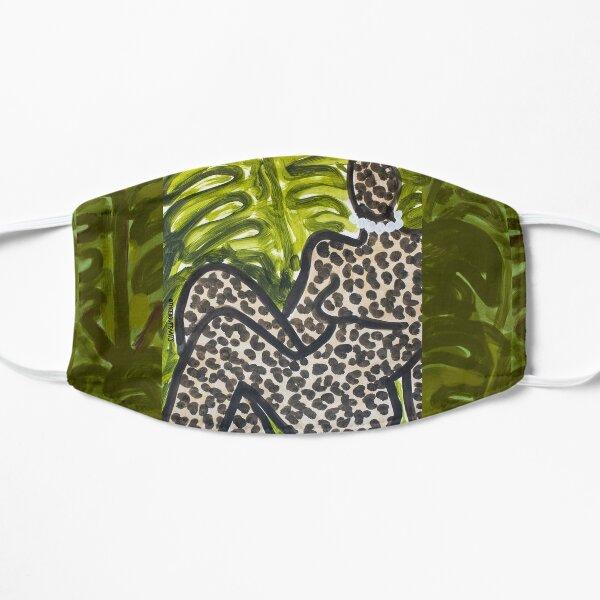 Leopard Figure I Flat Mask