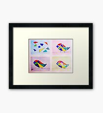 It all comes together Framed Print