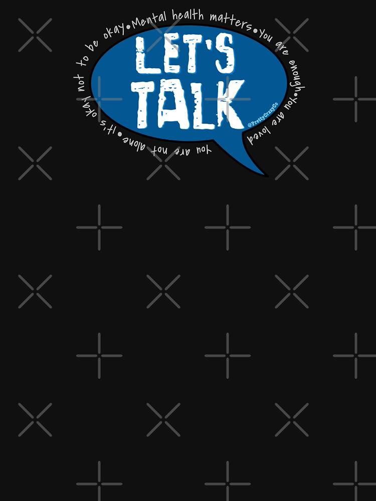 Bell Let's Talk Day by prettycrazyco