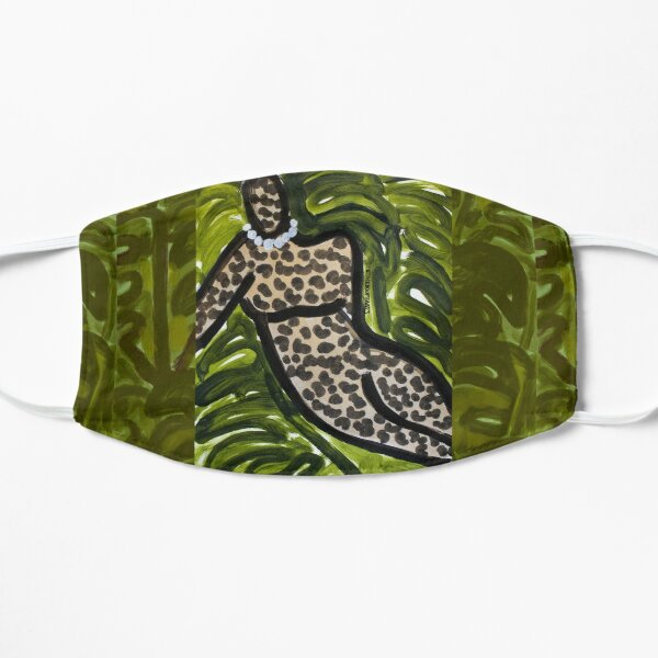 Leopard Figure II Flat Mask