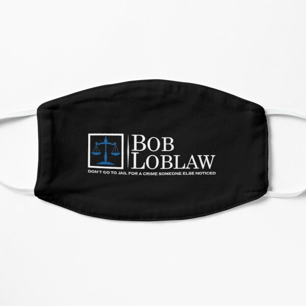 Bob Loblaw logo inspired by Arrested Development Flat Mask