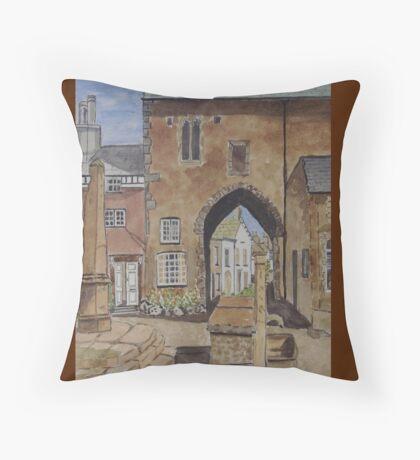 Cartmel. UK Throw Pillow