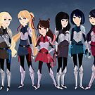 Sailor Soldiers by Ennemme