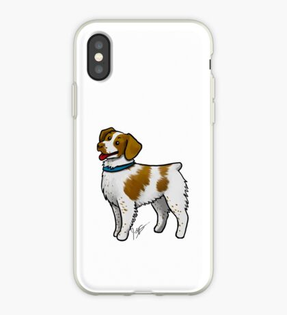 Brittany Spaniel iPhone Case