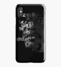 Samuel L Jackson Monologue iPhone Case/Skin