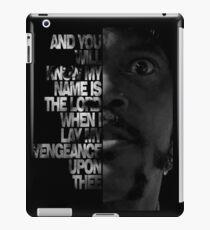 Samuel L Jackson Monologue iPad Case/Skin