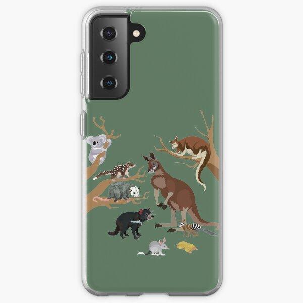 I Am Thankful For Marsupials Samsung Galaxy Soft Case