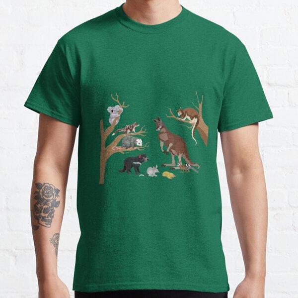 I Am Thankful For Marsupials Classic T-Shirt