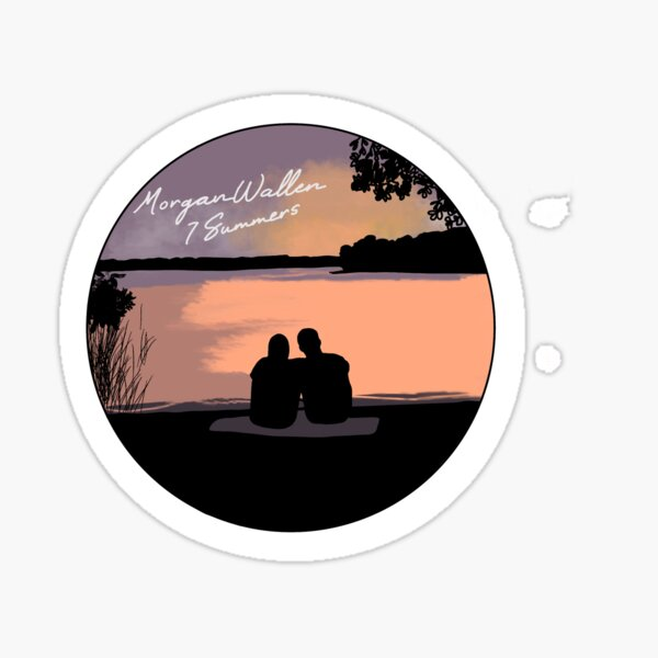 7 Summers by Morgan Wallen Sticker