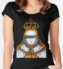 Good Queen Bess Fitted Scoop T-Shirt