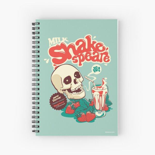 Milk Shakespeare Spiral Notebook