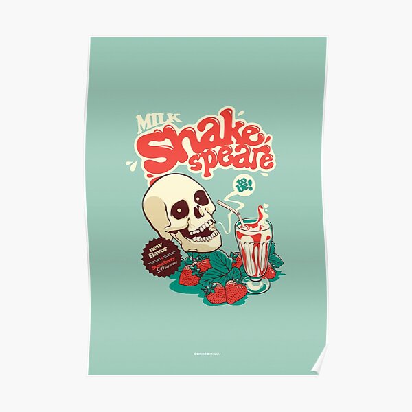 Milk Shakespeare Poster
