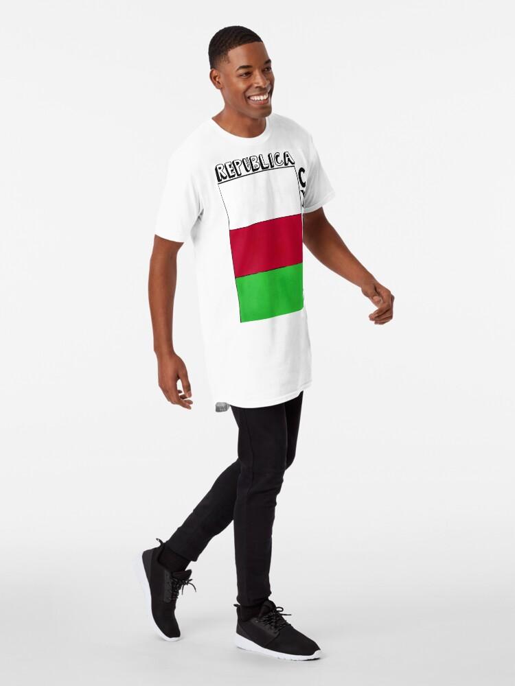 Alternate view of republica cymru Long T-Shirt