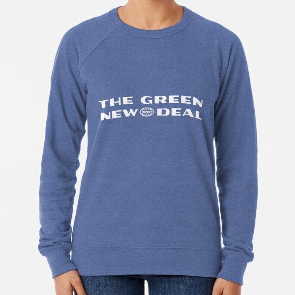 New Deal verde Sudadera ligera