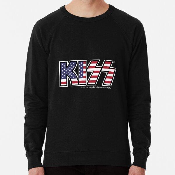 KISS (USA Flag Logo) Lightweight Sweatshirt