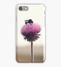 Bumble Bee and Thistle iPhone Case/Skin
