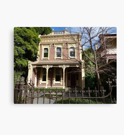 Charm in Melbourne Canvas Print