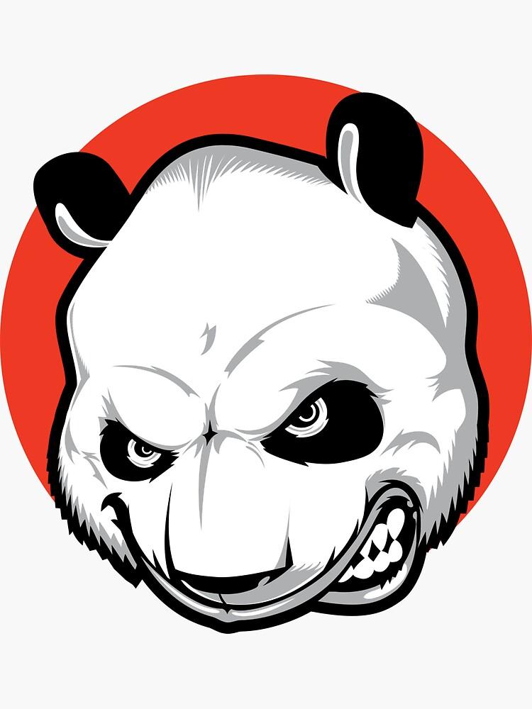 Mad Panda by OrganicGraphic